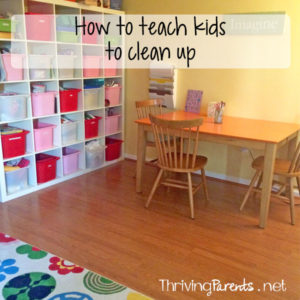 We think that kids instinctively know what cleaning up is, but they don't. By teaching them how to do it, we're setting them up for success and giving them the tools to be more capable and helpful.